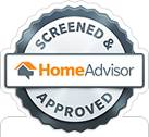 Home Advisor Screened and Approved Contractor