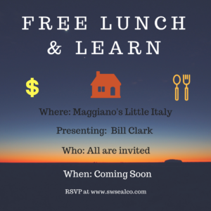 Free Lunch and Learn Coming Soon